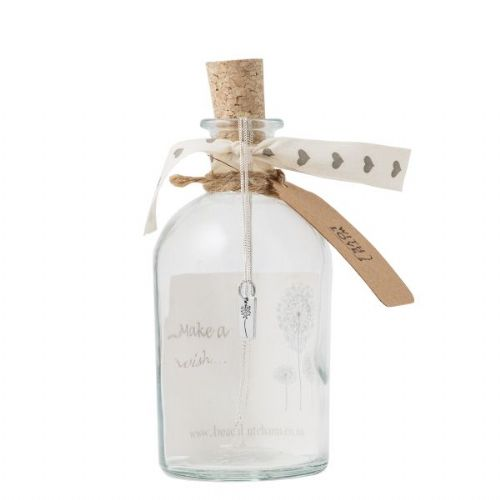 Bottled Dandelion Necklace